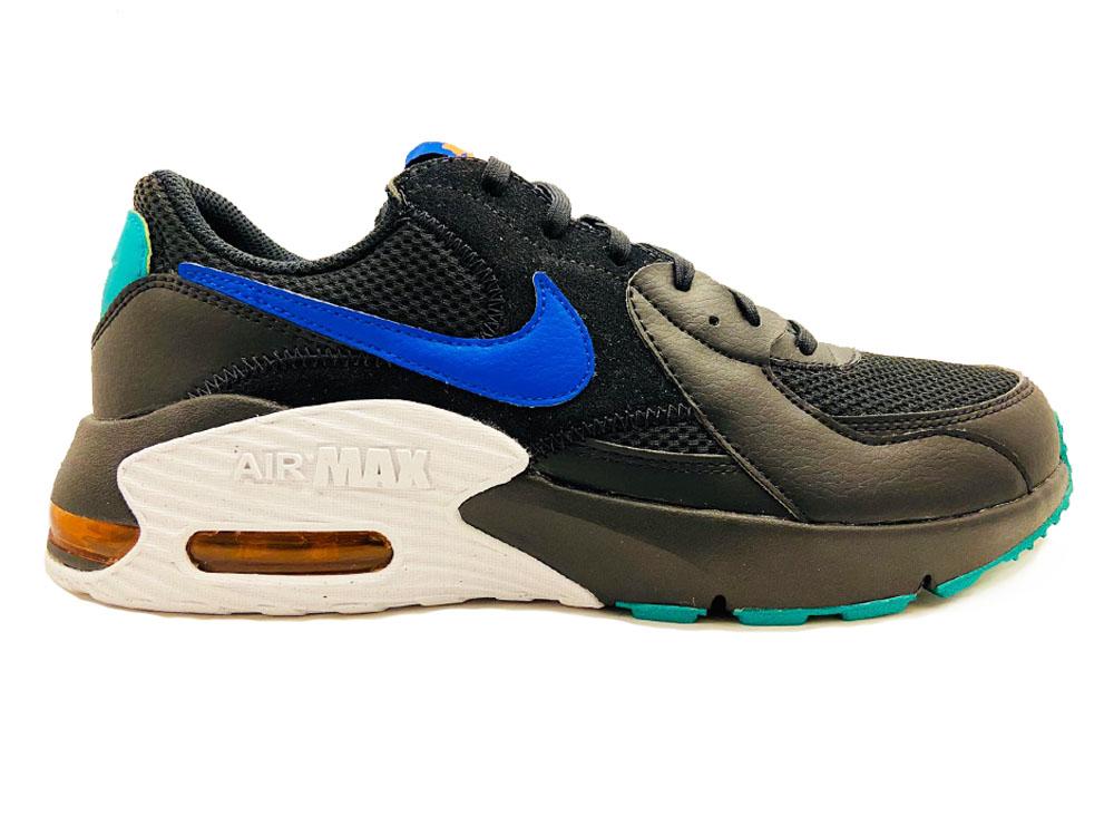 Zwarte Nike Sneakers Air Max Excee