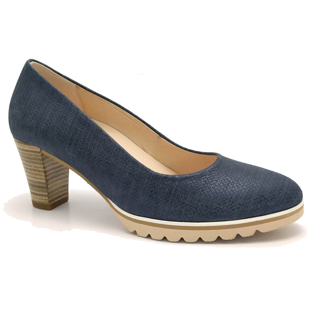 Blauwe Gabor Pumps