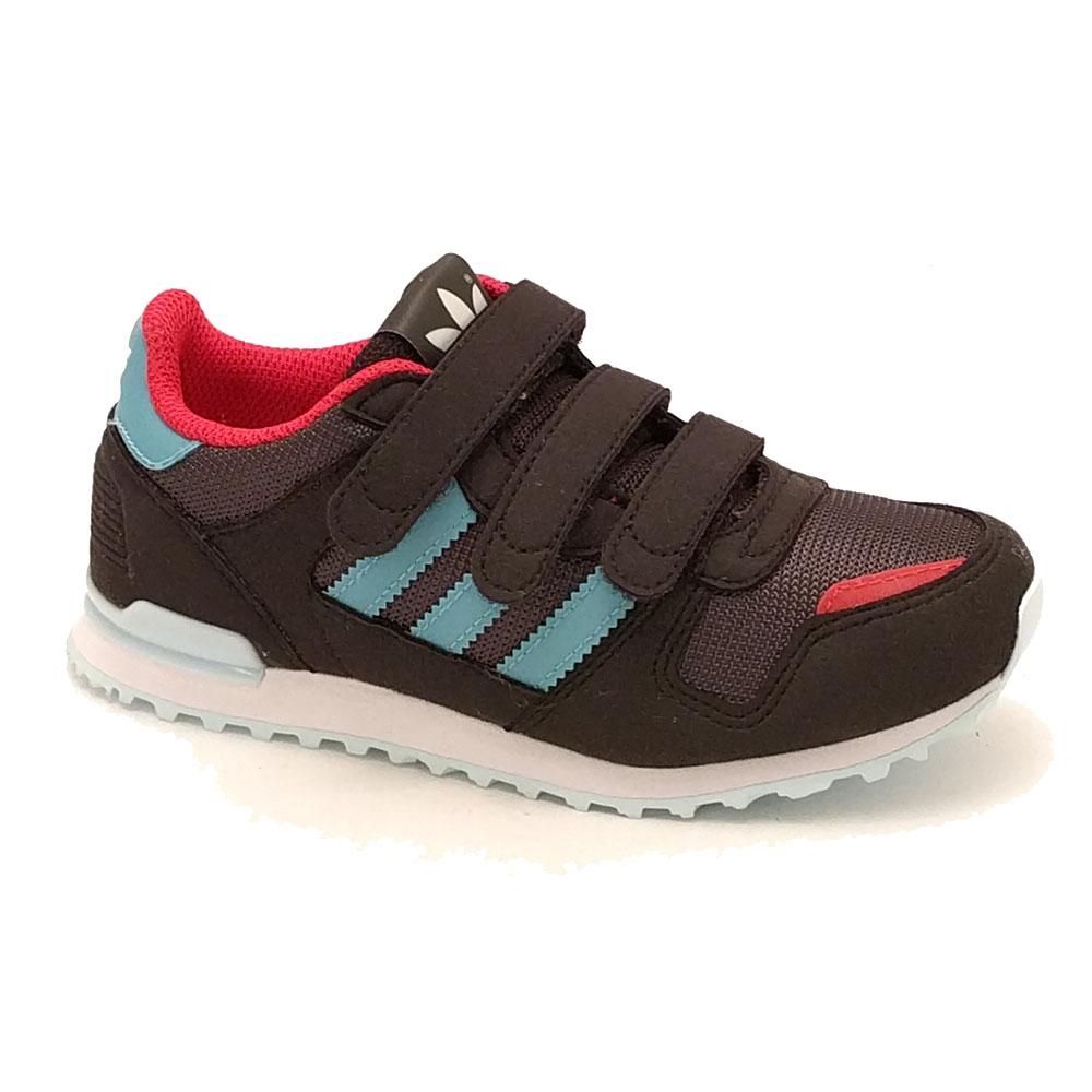 Zwarte Adidas ZX 700 CF C Sneakers Klittenband