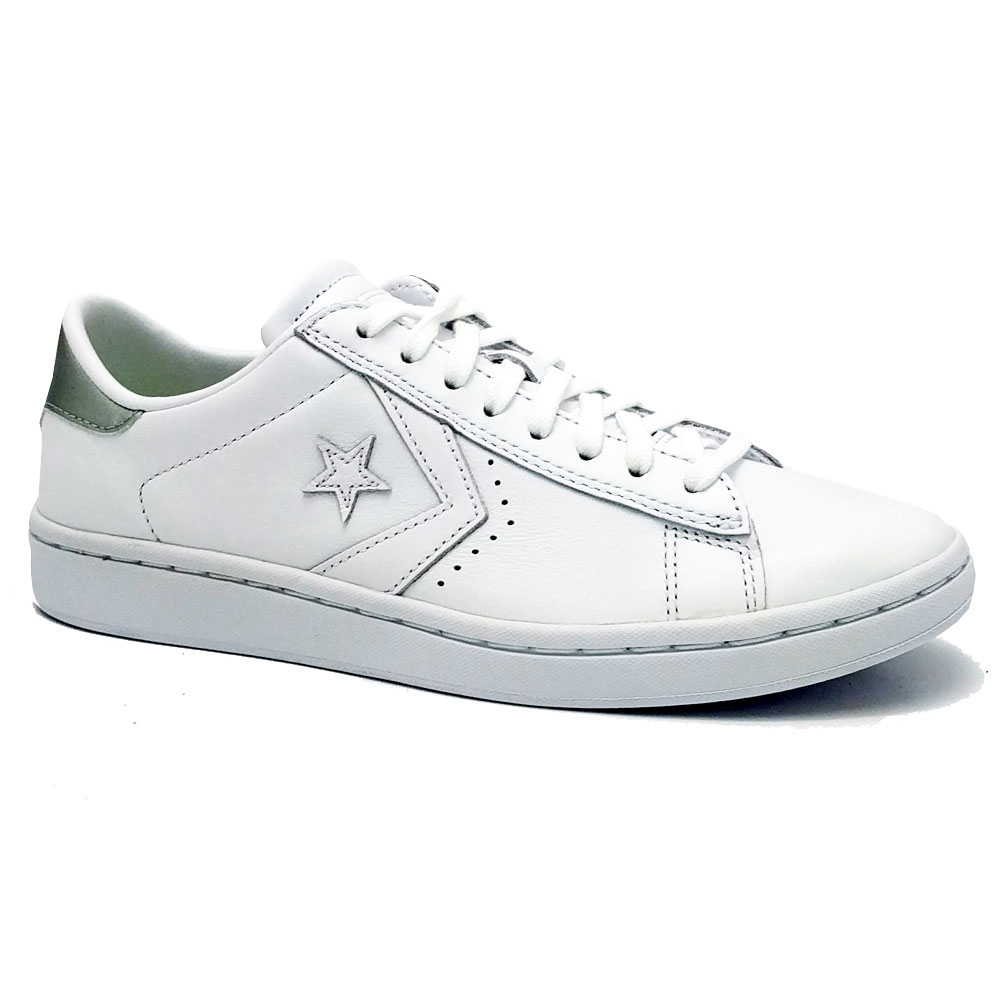 Lage Converse Sneakers OX Optical White