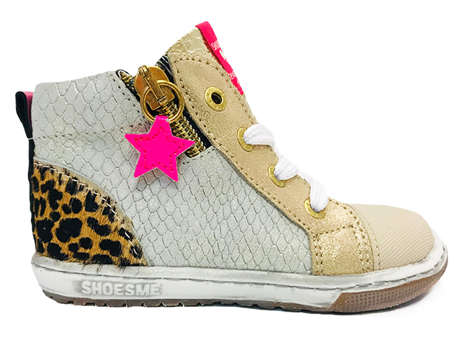 Gouden ShoesMe Veterschoenen Extreme Flex