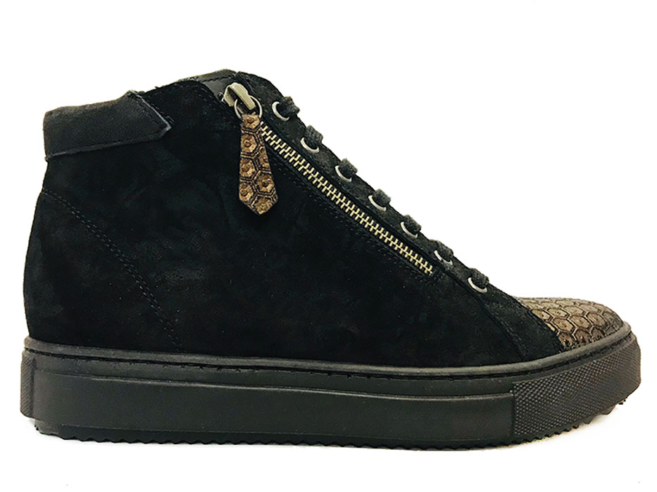 Bruine Verhulst Sneakers Tara Wijdte H