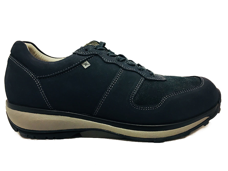 Blauwe Xsensible Veterschoenen Boston