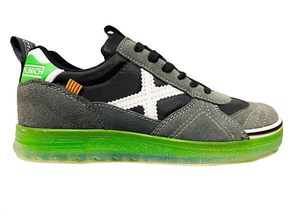 Zwarte Munich Sneakers G3 Kids