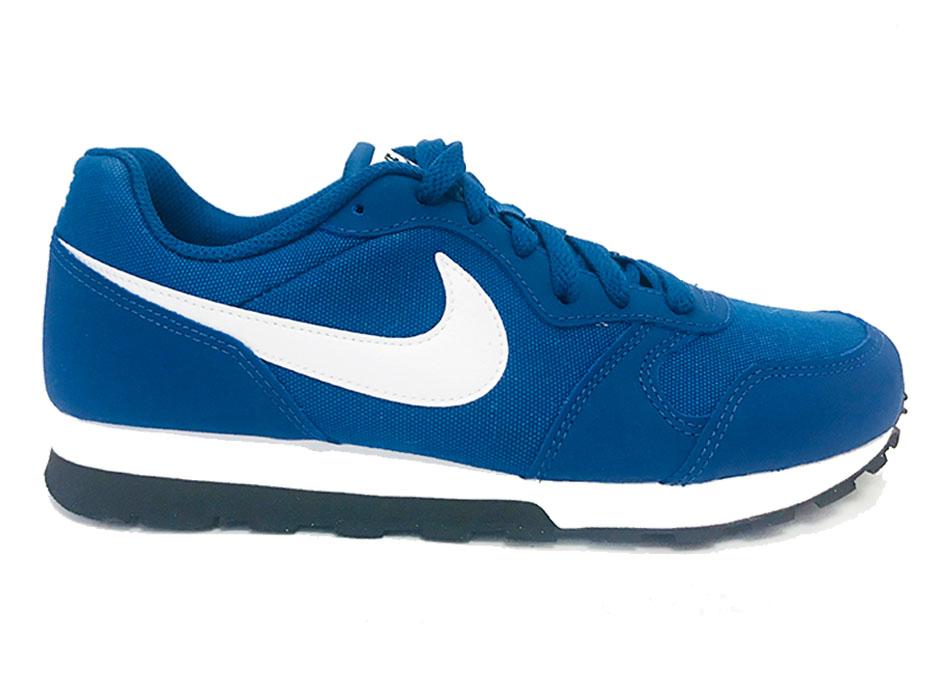03e346752ea Blauwe Nike Sneakers MD Runner 2 Kids - Verest Schoenen