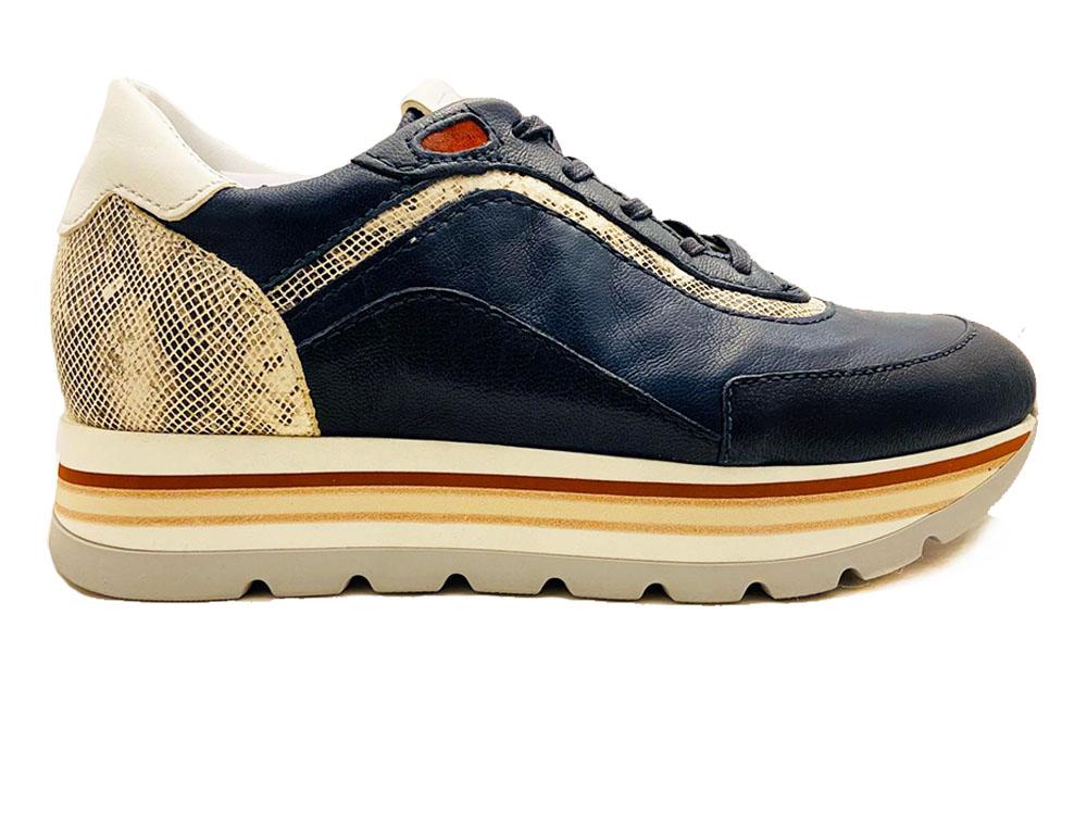 Blauwe Piedi Nudi Sneakers