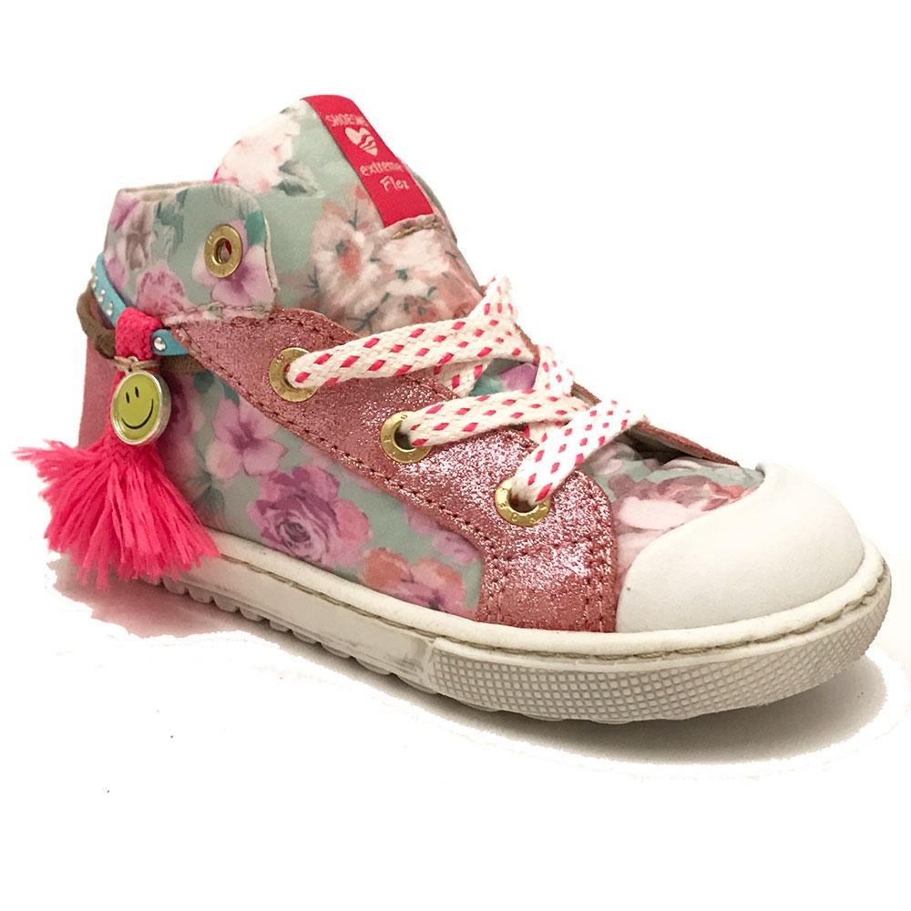Roze ShoesMe Veterschoenen