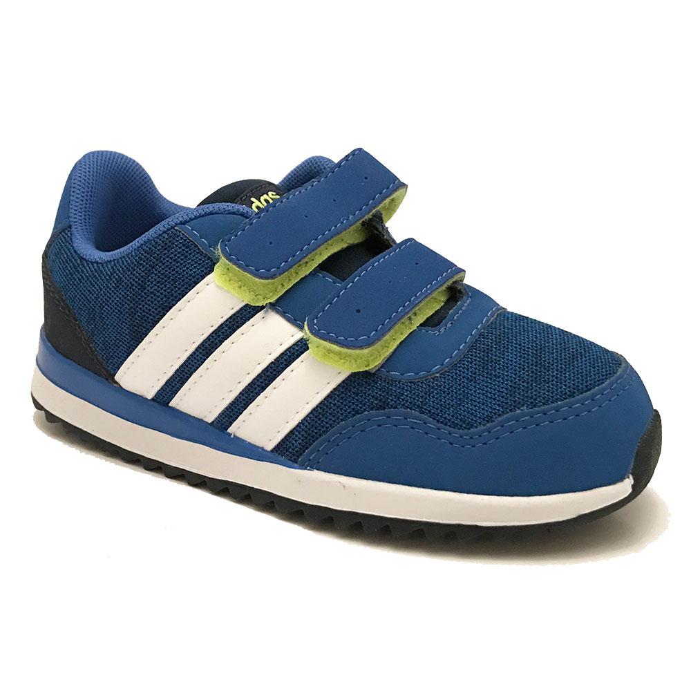 Blauwe adidas Sneakers Klittenband V Jog