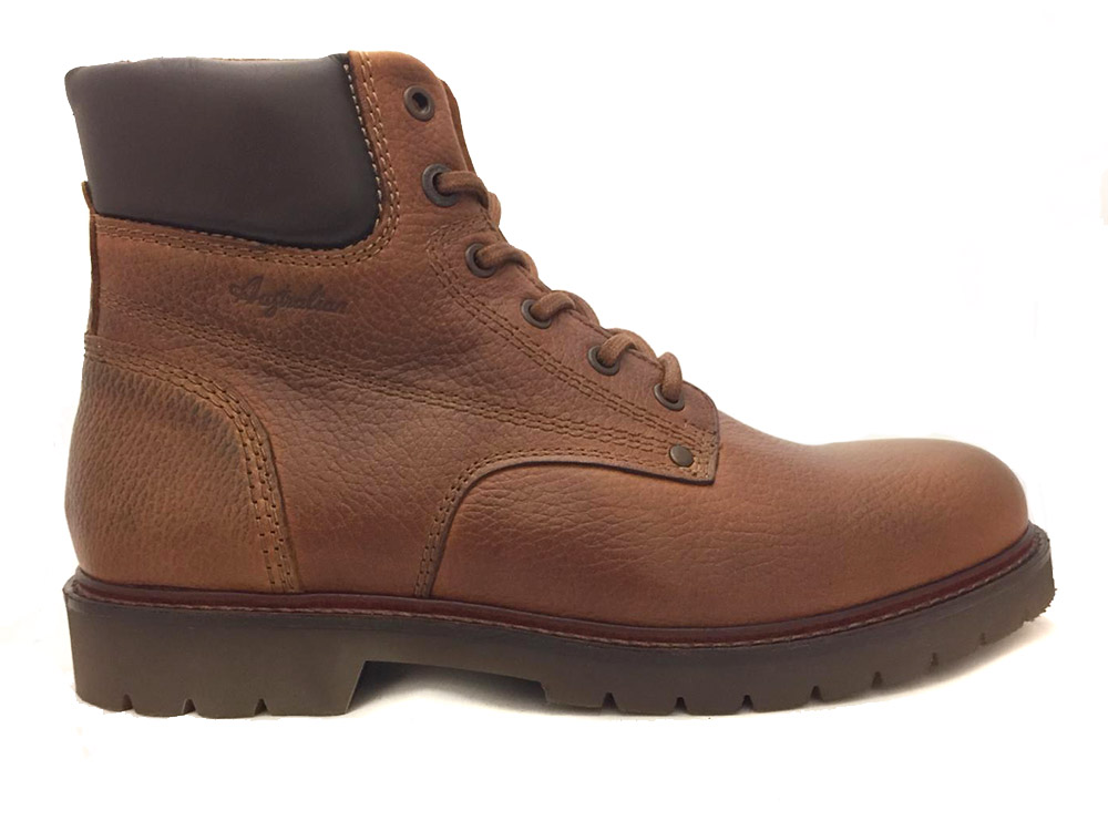 Bruine Aunstralian Veterschoenen Palermo Leather