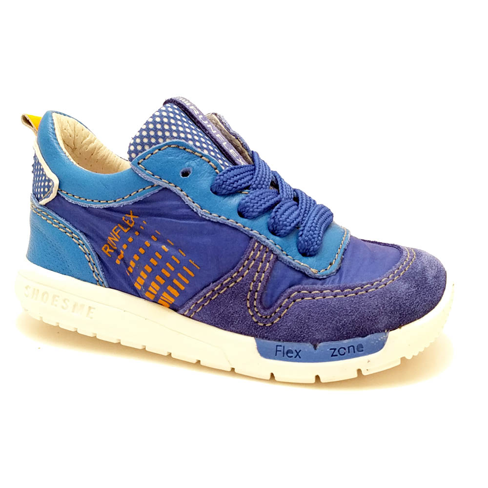 Blauwe ShoesMe Sneakers Run Flex