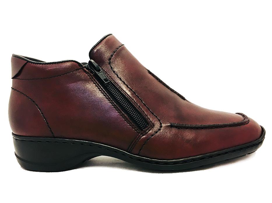 rode rieker schoenen