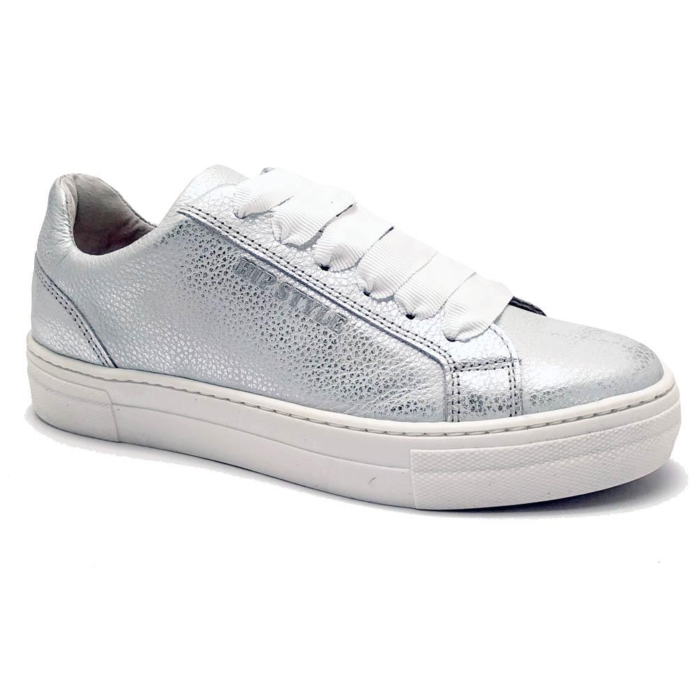 Zilveren Hip Veterschoenen