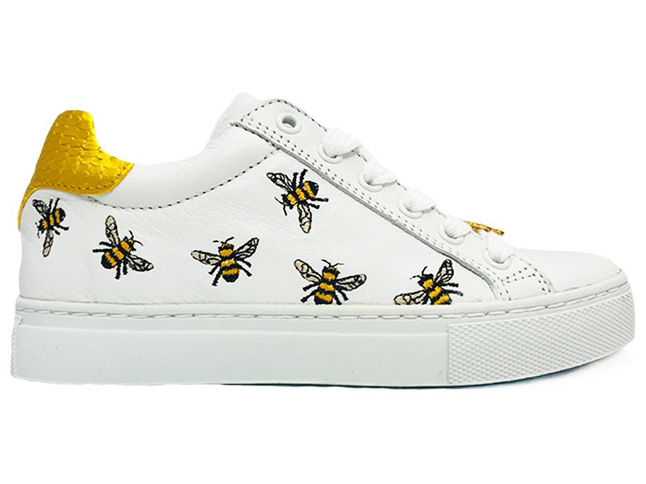 Witte Giga Veterschoenen Bijen