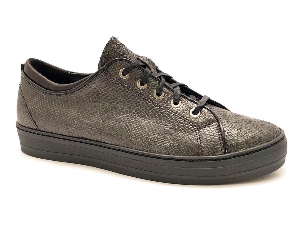 Zwarte Footnotes Sneakers Maud Wijdte H
