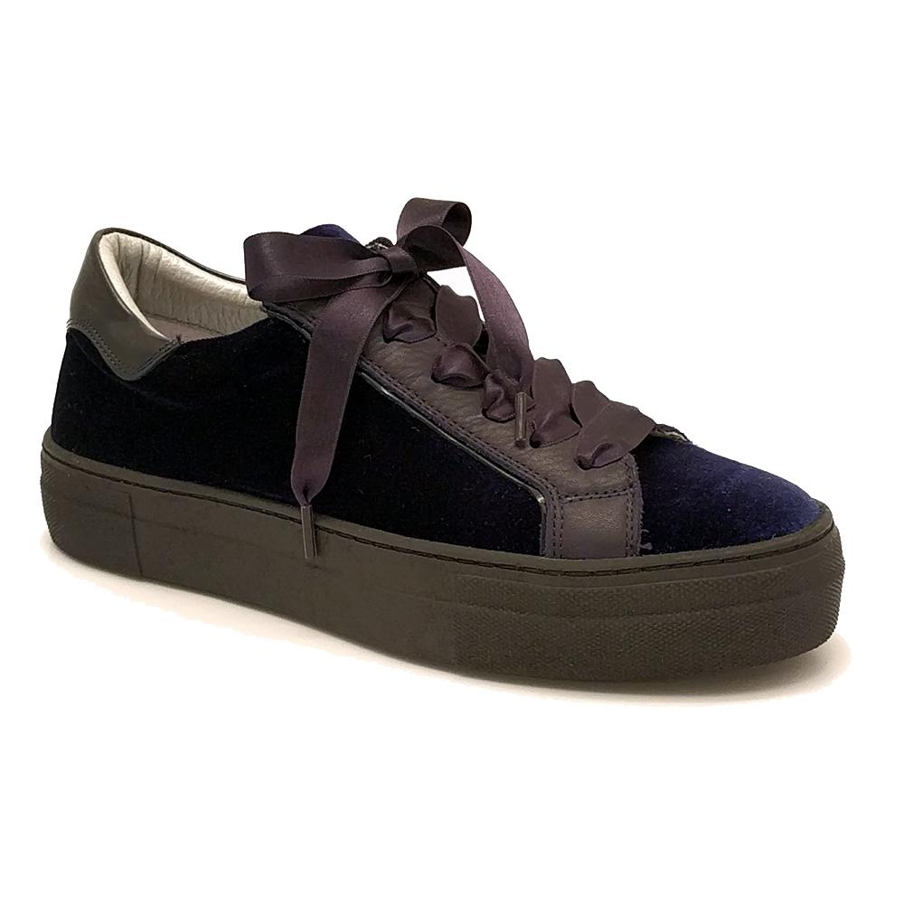 Donkerblauwe Hip Sneakers