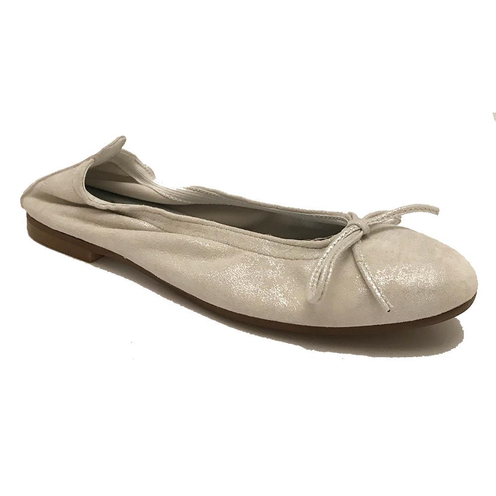 Witte Clic Ballerina's