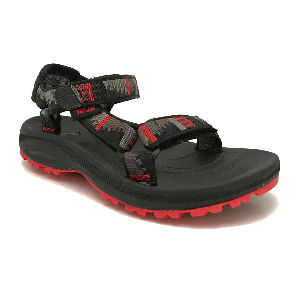 teva sandalen hurricane 2 peaks grey black red verest schoenen. Black Bedroom Furniture Sets. Home Design Ideas