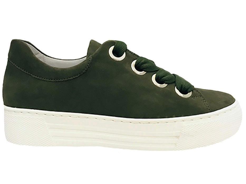 Groene Gabor Sneakers Wijdte G