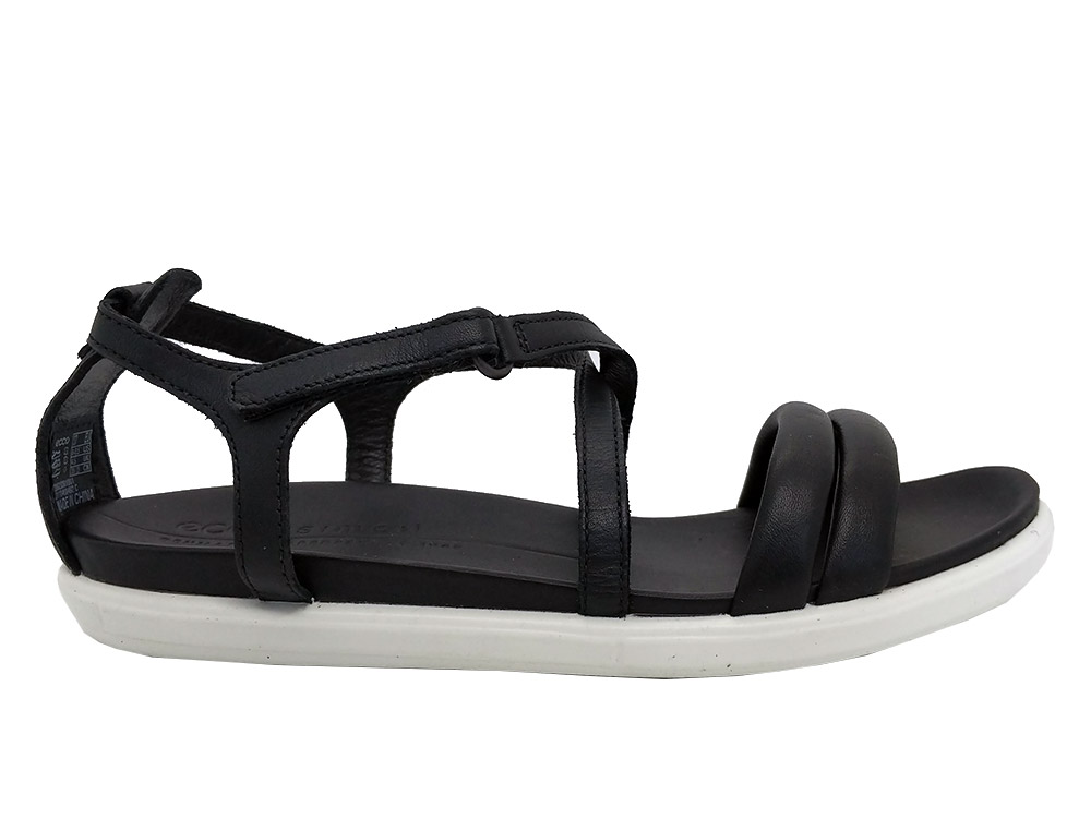 Zwarte Ecco Sandalen Simpil
