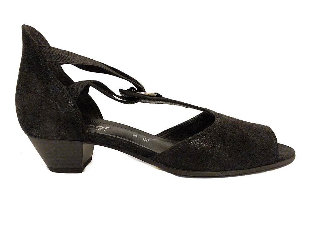 Gabor Zwarte Metallic Schoenen Ym7gbfyi6v Verest Sandalen iZPuOkX
