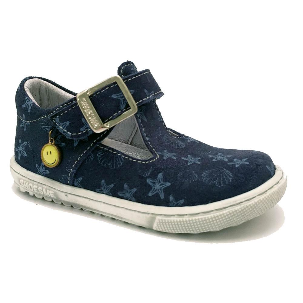 Blauwe ShoesMe Bandschoenen