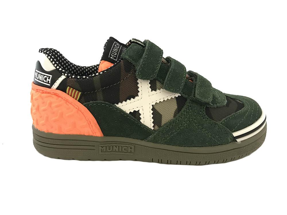 Chaussures Vertes Munich Avec Des Hommes De Fermeture Velcro rJJHPYq1nZ