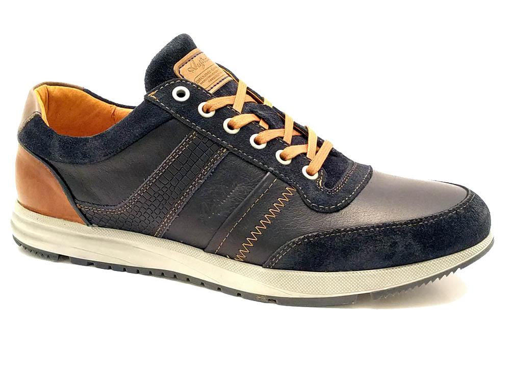 Blauwe Australian Veterschoenen Grant Leather