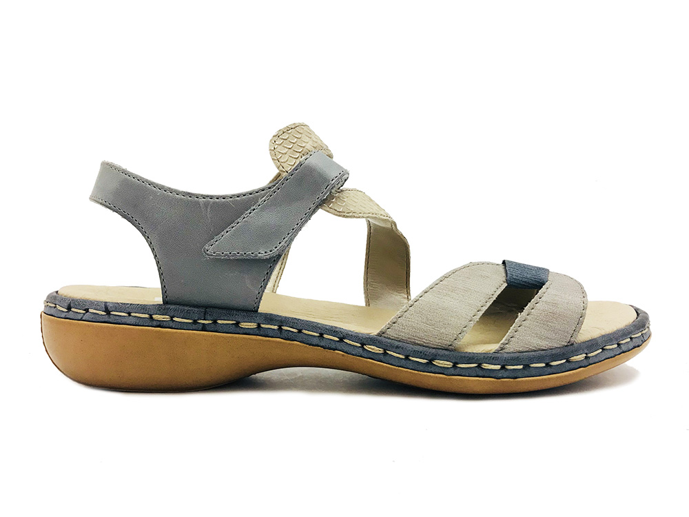 blauwe rieker sandalen verest schoenen. Black Bedroom Furniture Sets. Home Design Ideas