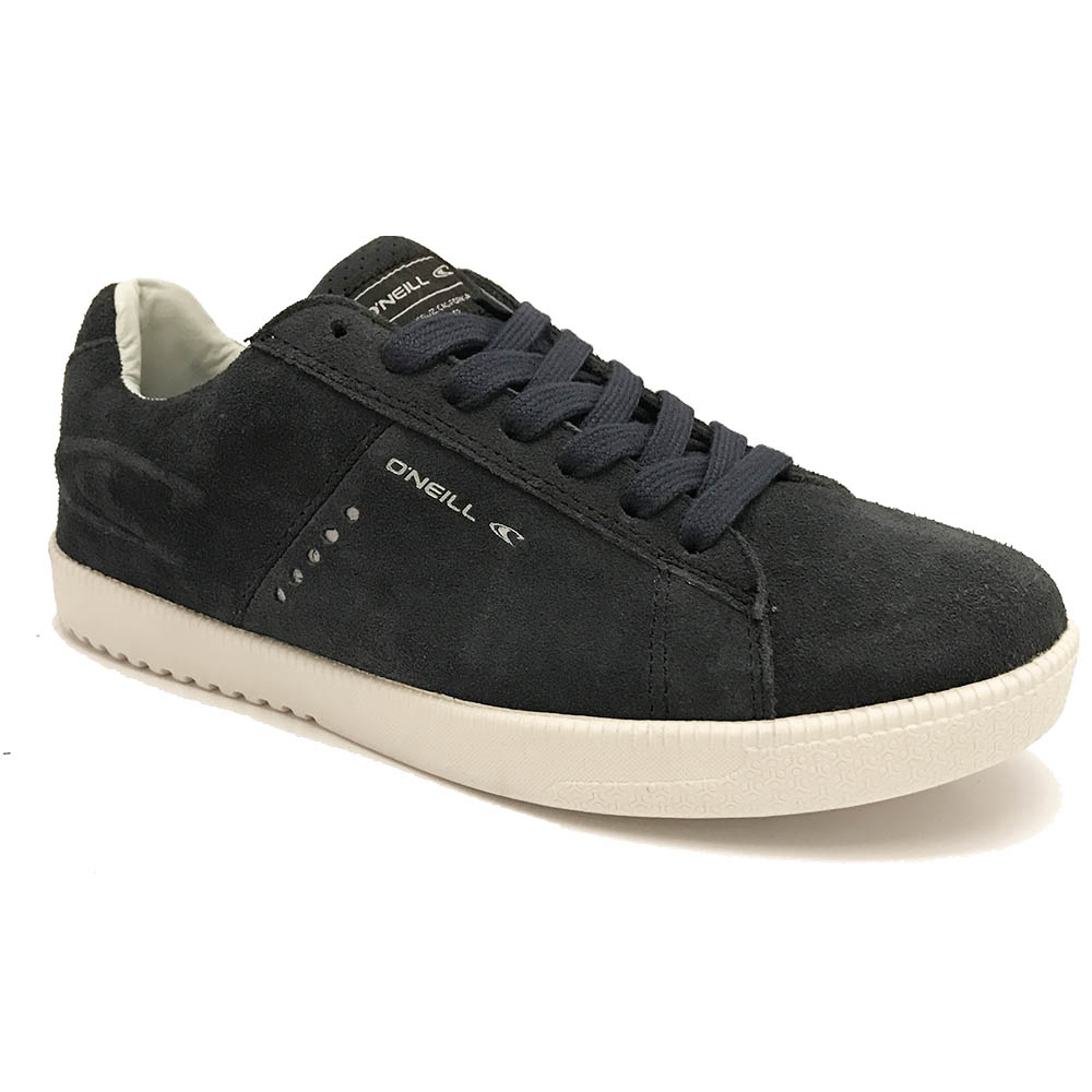 Blauwe O'Neill Veterschoenen Ledge Low Suede