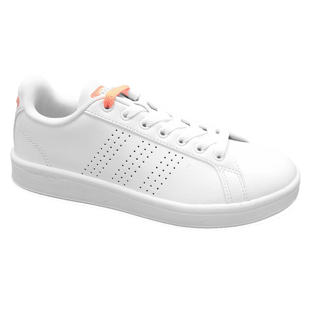 Witte Adidas Cloudfoam Advance Sneakers