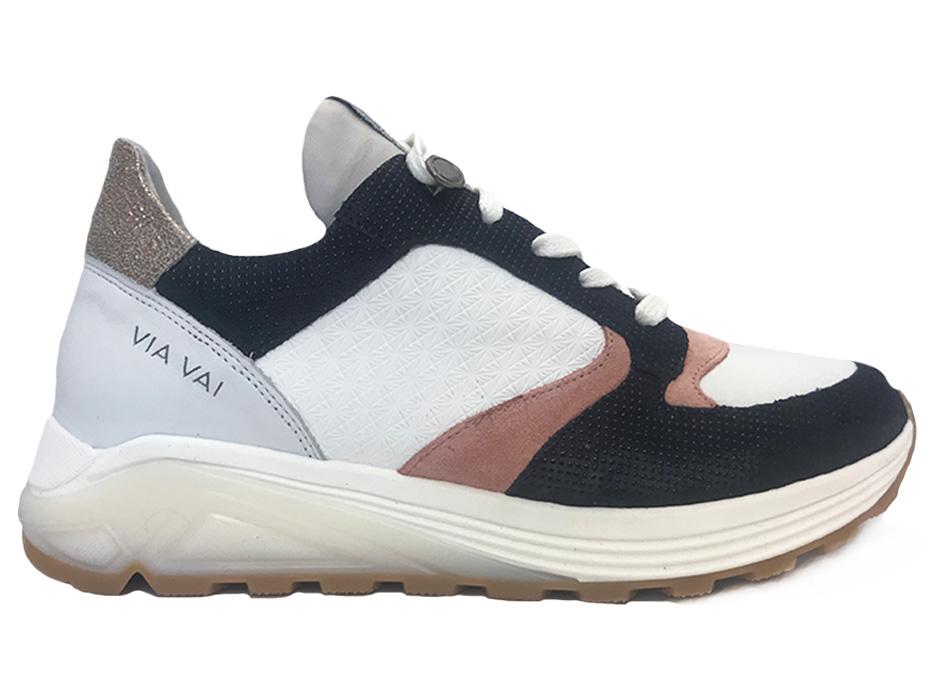 Witte Via Vai Sneakers Swami Colatina Combi