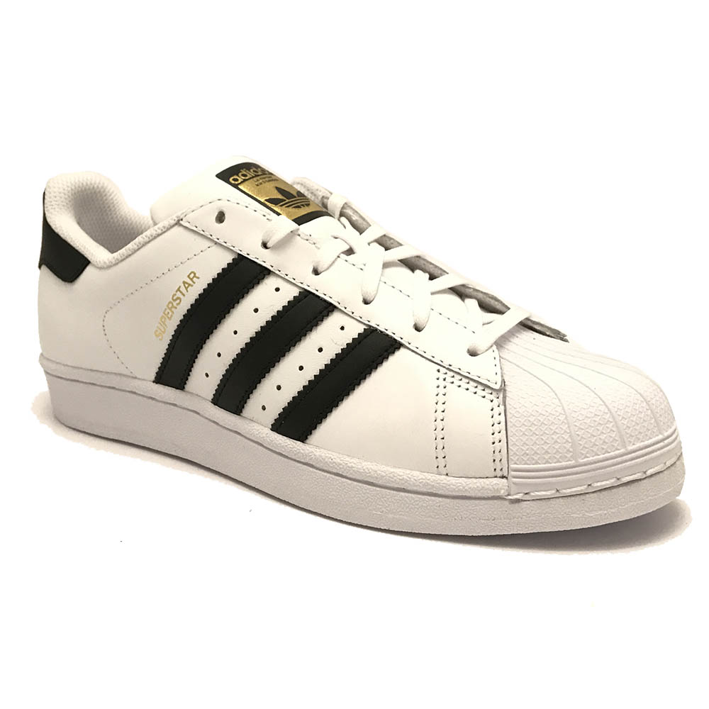 Witte adidas Sneakers Superstar White Black