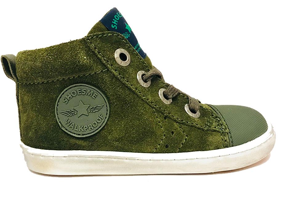 Groene ShoesMe Veterschoenen