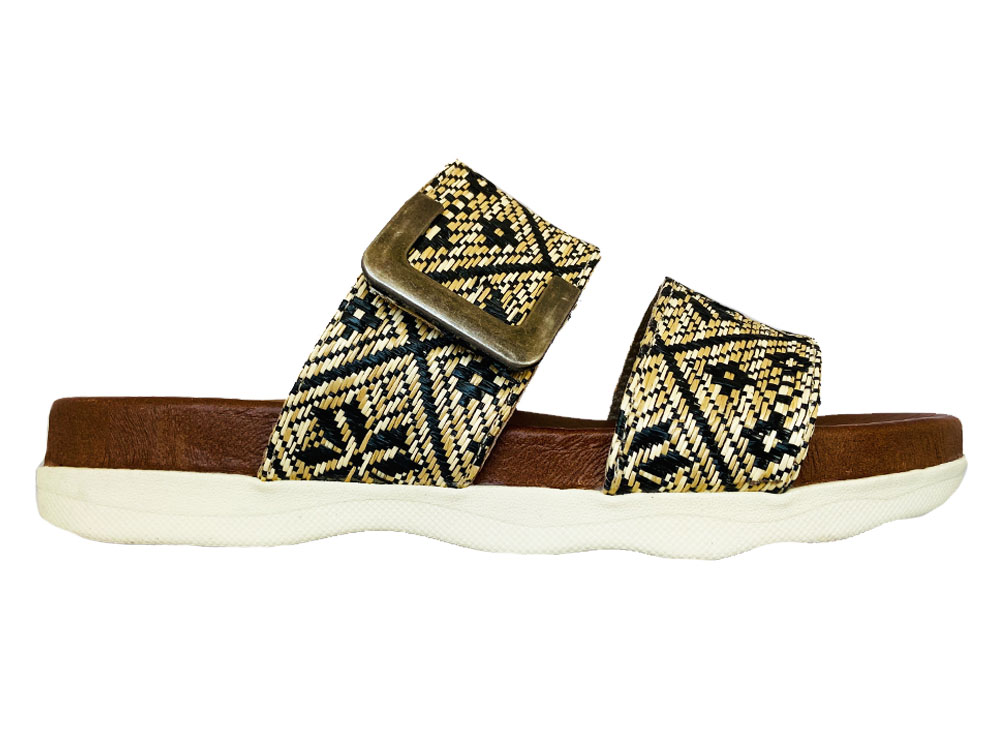 Zwarte Pitt Slippers