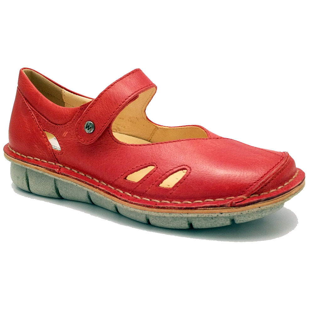 Chaussures Cravate Rouge Wolky Neath MlssU