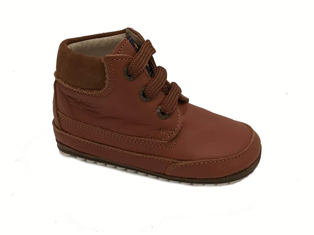 Bruine ShoesMe Veterschoenen Flex