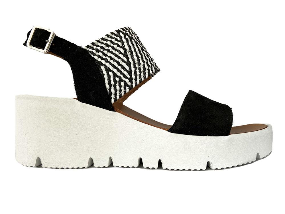 Zwarte Gosh Sandalen