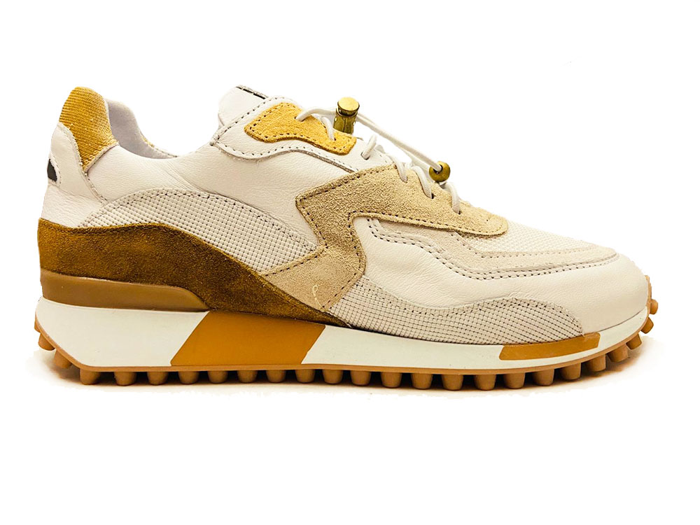 Witte Via Vai Sneakers Vitello Ramos