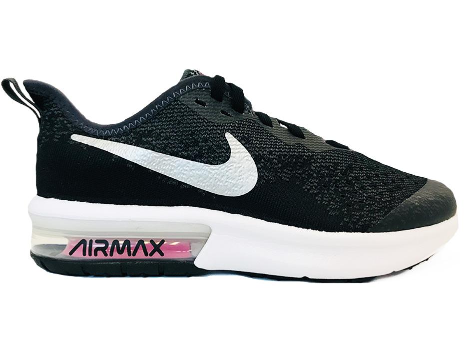 Zwarte Nike Air Max Sequent 4 GS