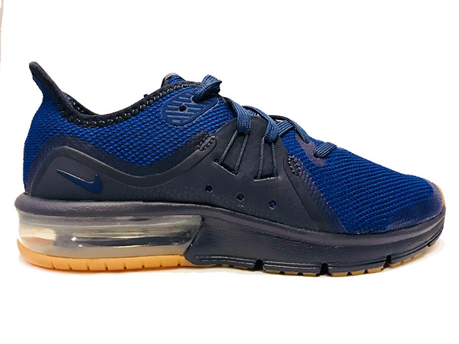 ec0f65df855 Blauwe Nike Sneakers Air Max Sequent 3 Kids - Verest Schoenen