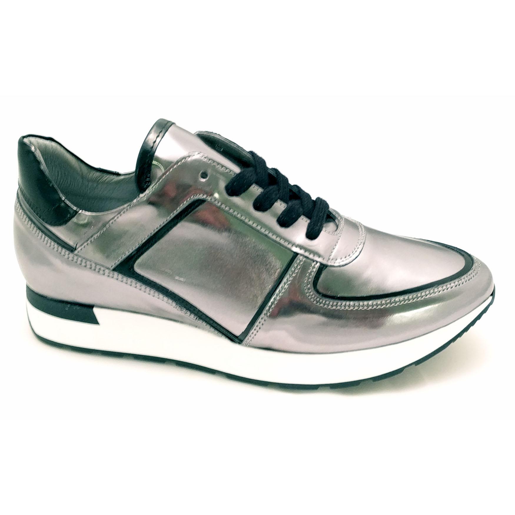 Zilvere Hip Sneakers