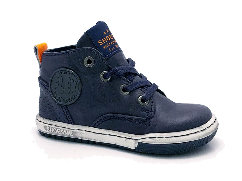 Blauwe ShoesMe Veterschoenen Flex