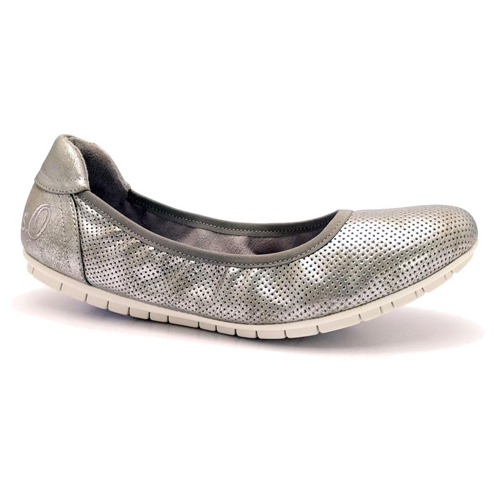 Zilveren s.Oliver Ballerina's