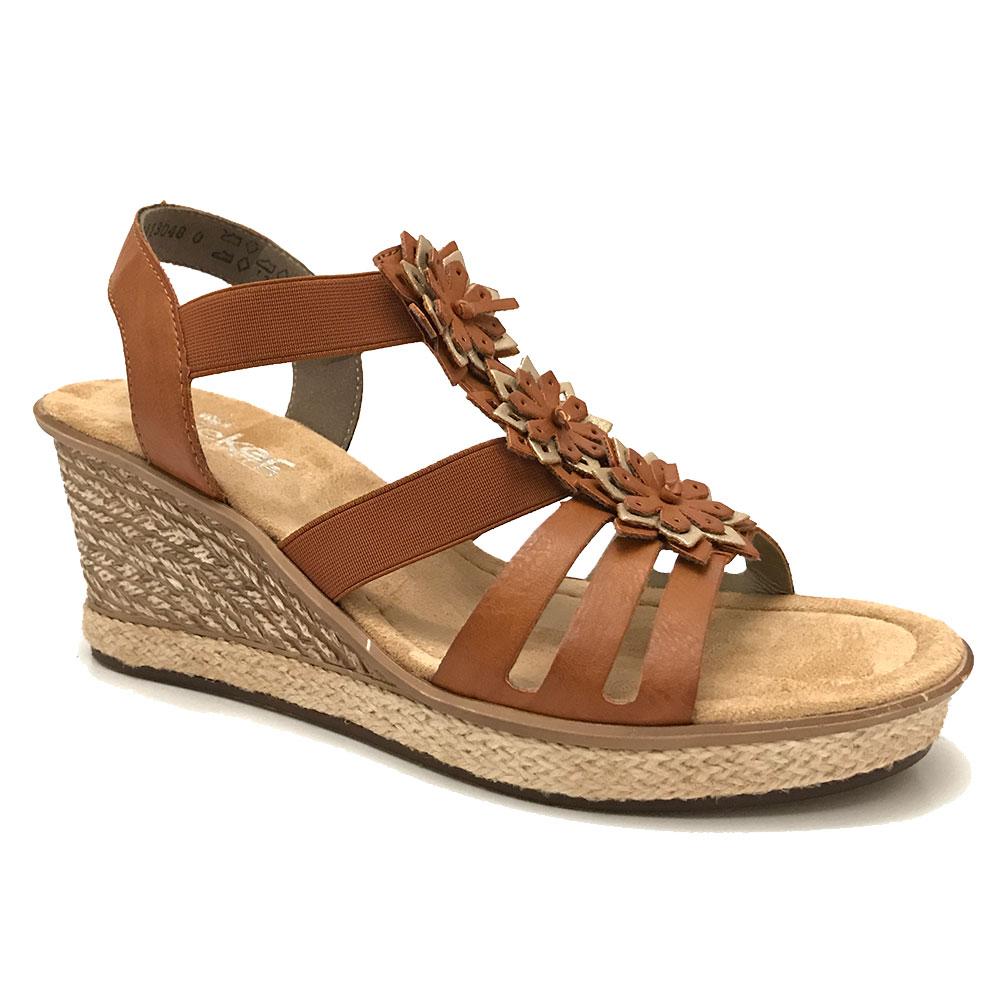 bruine rieker sandalen verest schoenen. Black Bedroom Furniture Sets. Home Design Ideas