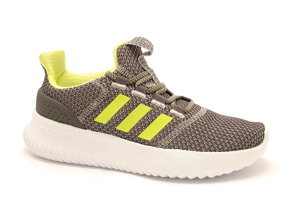 Grijze adidas Sneakers Cloudfoam Ultimate
