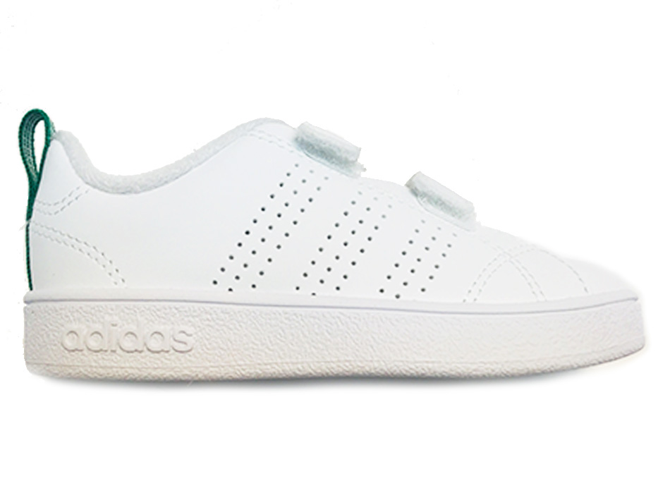 Image of Witte adidas Sneakers Advantage Kids Klittenband