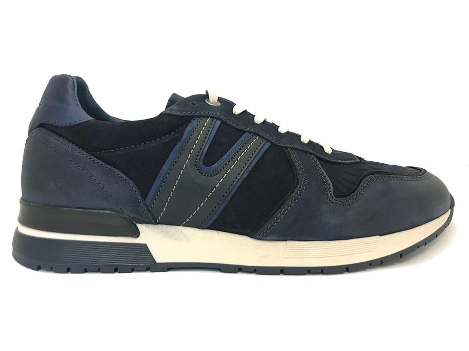 Blauwe van Lier Sneakers