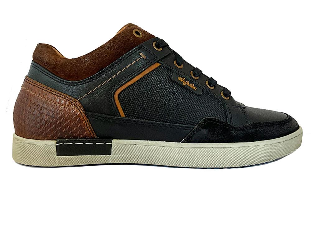 Zwarte Australian Veterschoenen Antrim Leather