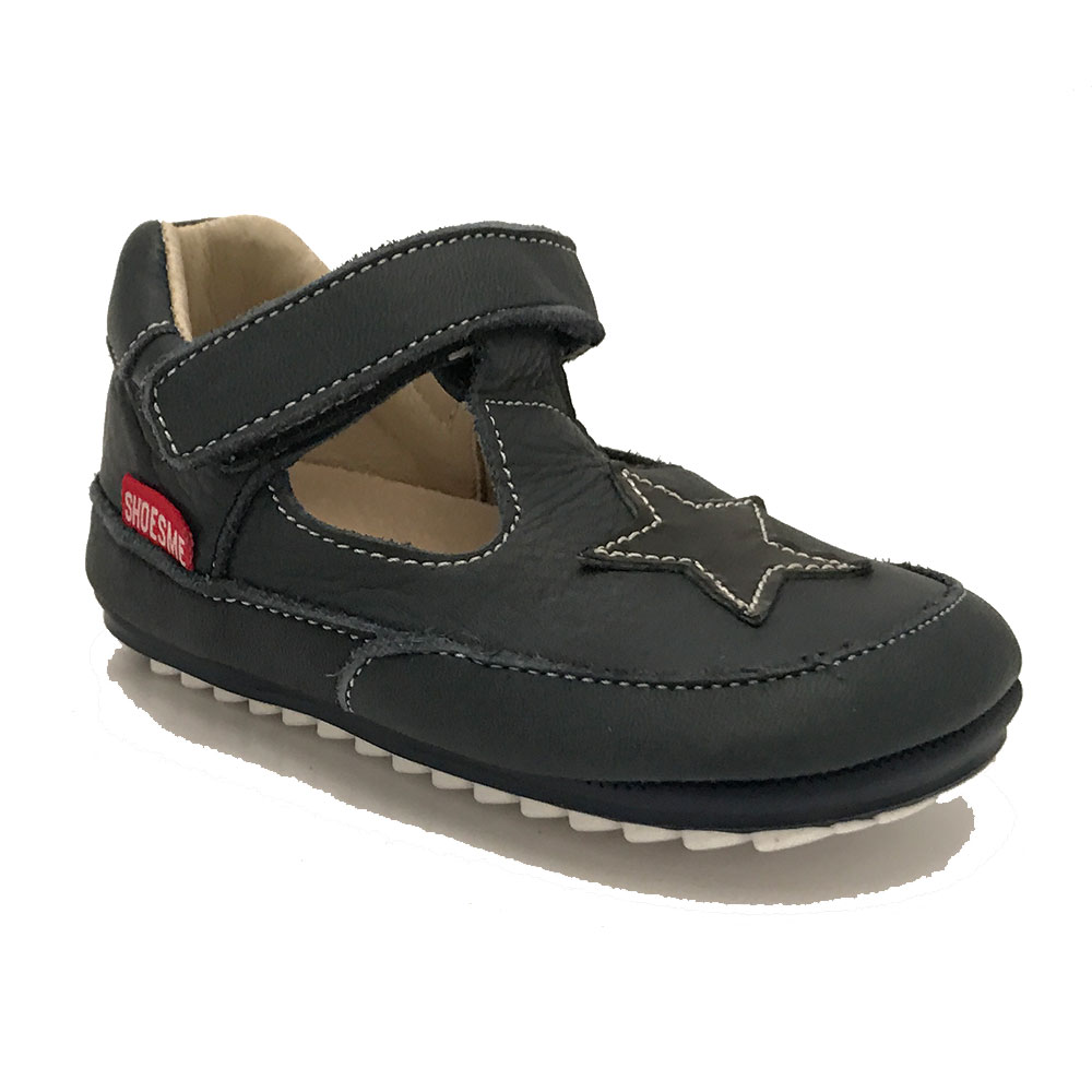Blauwe ShoesMe babyproof Bandschoenen