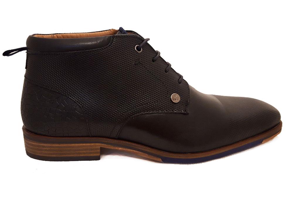 Zwarte Australian Veterschoenen Albany Leather